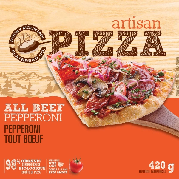Take Home Frozen All Beef Pepperoni Pizza