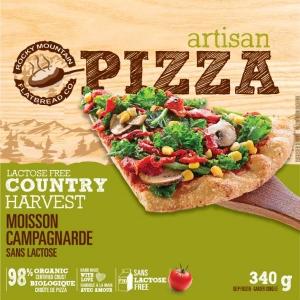 Take Home Frozen Vegan Country Harvest Pizza