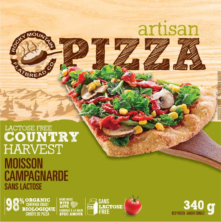 Take Home Frozen Vegan Country Harvest Pizza