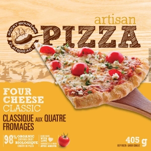 Take Home Frozen Four Cheese Classic Pizza
