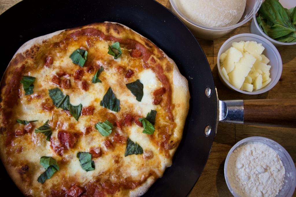 pizza w_ Chorizo